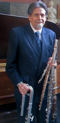 Flutist Peter H. Bloom